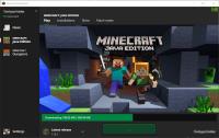Minecraft Launcher - Download Hangs.png
