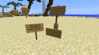 sign bug written sign on sand.png