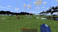 screen shot minecraft glitch with chunk borders.png