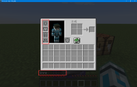 Armor bar appeared with ghost Iron Chestplate.png