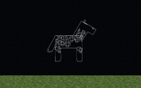 glowing horse through wall.png