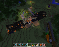 A unloaded chunk. P.S. this was in singleplayer not muiltiplayer..png