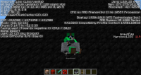 Player riding minecart hitbox bug (1.8.6).png